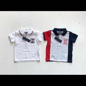 NWT Tommy Hilfiger baby boy tops. Size 6-9 months